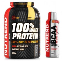 NUTREND Whey  + Nutrend Bcaa