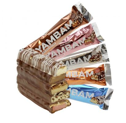 Body Attack Sports Nutrition YAMBAM PROTEIN BAR