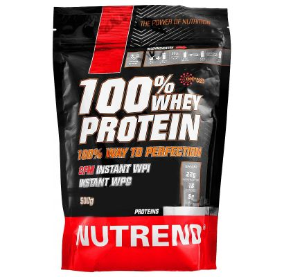 100% Whey Protein 500g.
