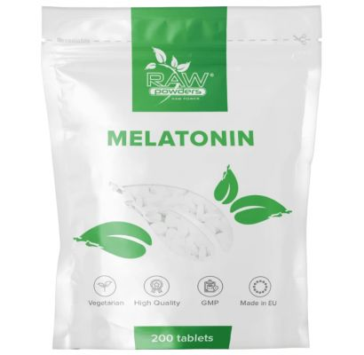 Raw Powders Melatonin