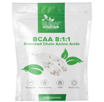 Raw Powders BCAA 8:1:1