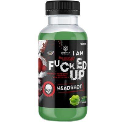 Swedish Supplements I Am F*cked Up Headshot